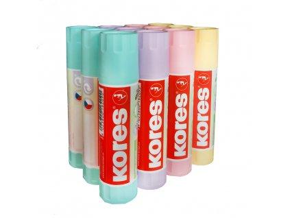 lepici tycinka kores pastel 20g ruzne barvy paperlove