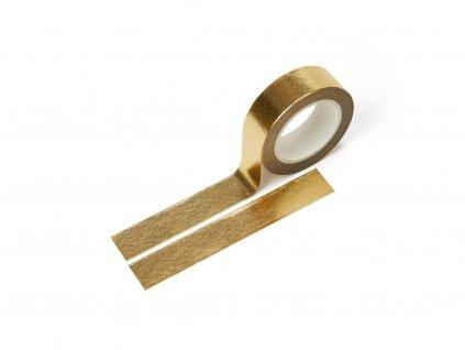 3059 washi paska metalicka zlata paperlove