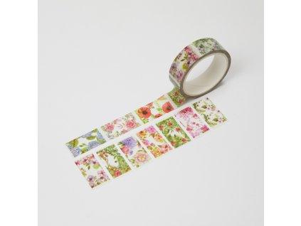 washi paska trhaci kvetiny paperlove