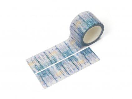 3149 washi paska zasnezeny les trpytiva paperlove