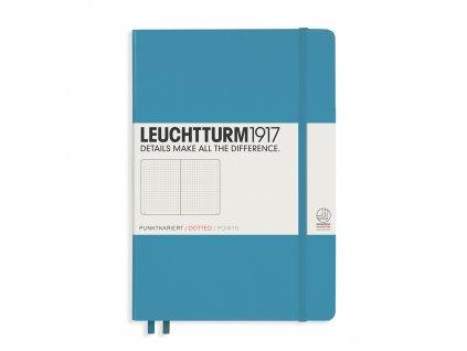 teckovany zapisnik leuchtturm1917 medium a5 nordic blue
