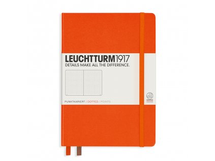 teckovany zapisnik leuchtturm1917 medium a5 orange