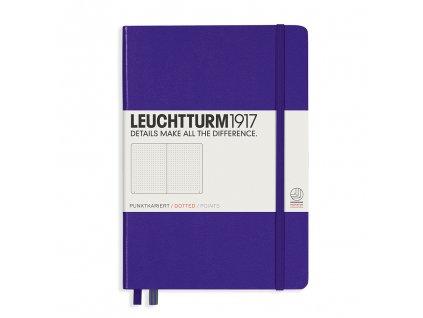 teckovany zapisnik leuchtturm1917 medium a5 purple