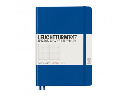 teckovany zapisnik leuchtturm1917 medium a5 royal blue