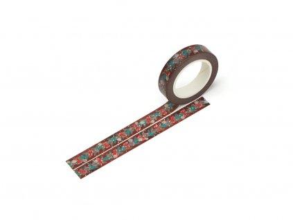 Washi páska - Borovicové větvičky