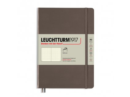 teckovany zapisnik leuchtturm1917 medium softcover warm earth