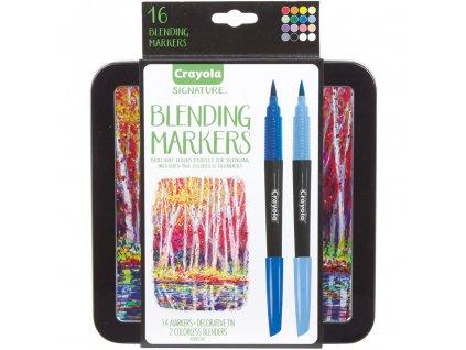 crayola signature blending markers sada 16ks 1