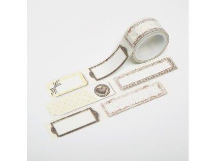 Washi páska - Štítky