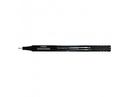 zebra zensations technical drawing pen ruzne velikosti 2