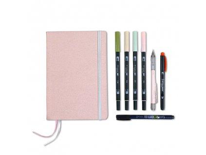 tombow sada bullet journal pastel 1