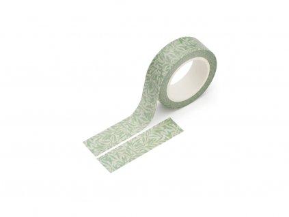 Washi páska - Zelený ratan