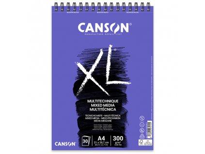 skicak canson xl mix media 300g m2 30 archu a4