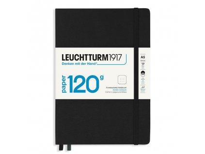 teckovany zapisnik leuchtturm1917 edition 120g medium a5 black