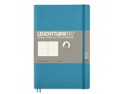 teckovany zapisnik leuchtturm1917 b6 softcover nordic blue