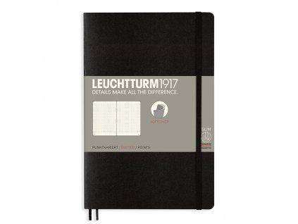 teckovany zapisnik leuchtturm1917 b6 softcover black