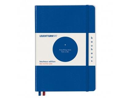teckovany zapisnik leuchtturm1917 bauhaus edition medium a5 royal blue 1