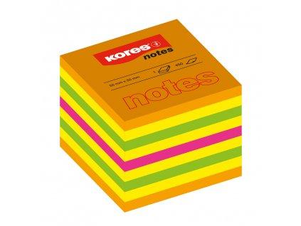 samolepici neonove blocky kores cubo summer 50mm x 50mm