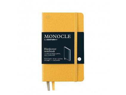 teckovany zapisnik leuchtturm1917 monocle pocket a6 yellow