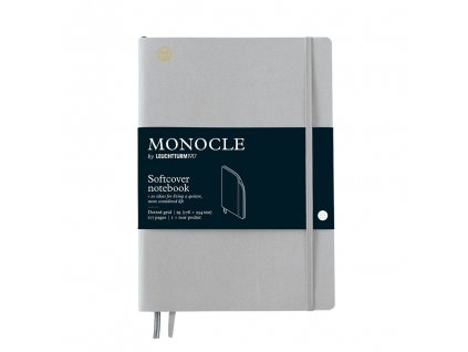 teckovany zapisnik leuchtturm1917 monocle b5 softcover light grey