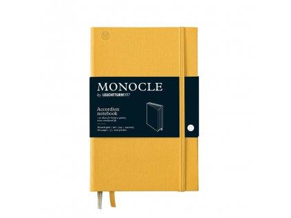 teckovany zapisnik leuchtturm1917 monocle accordion b6 yellow