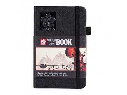 skicak sakura sketch notebook creme 9 x 14 cm 80 stran 1