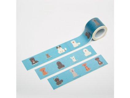 Washi páska - Pejsci