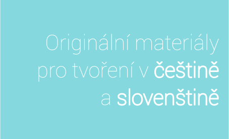 materiály s češtinou a slovenštinou