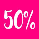 SLEVA AŽ 50%