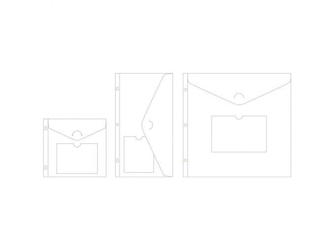 BECKY HIGGINS - obálky do alba - ENVELOPE VARIATY PACK