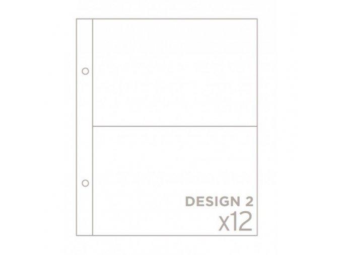 """BECKY HIGGINS - náhradní kapsy do alba 6""""X8"""" - DESIGN 2"""