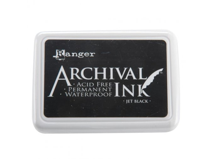 RANGER - Archival Ink Pad - JET BLACK