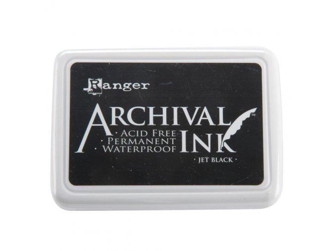 RANGER - Archival Ink Pad - JET BLACK