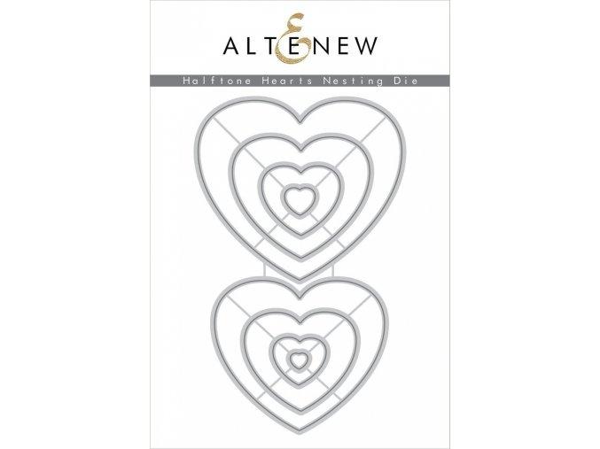 ALTENEW - Die Set - HALFTONE HEARTS NESTING