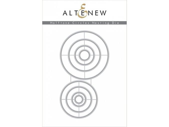 ALTENEW - Die Set - HALFTONE CIRCLES NESTING