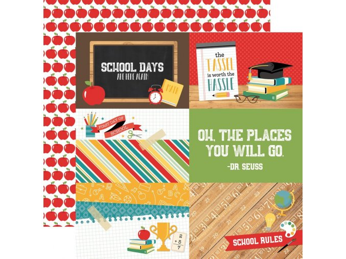 "ECHO PARK PAPER - Back to school - 4"" x 6"" JOURNALING CARDS"