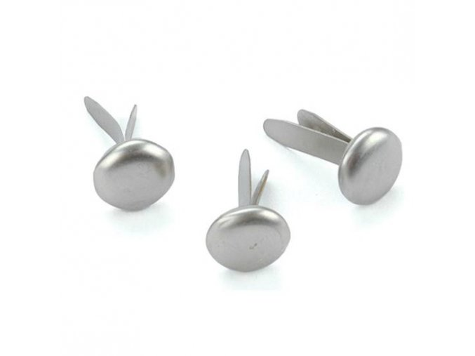 CREATIVE IMPRESSIONS - Metal Paper Fasteners - PEWTER