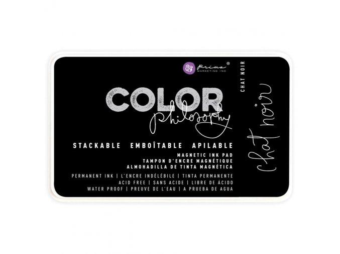 PRIMA MARKETING - Prima Color Philosophy Permanent Ink Pad - CHAT NOIR