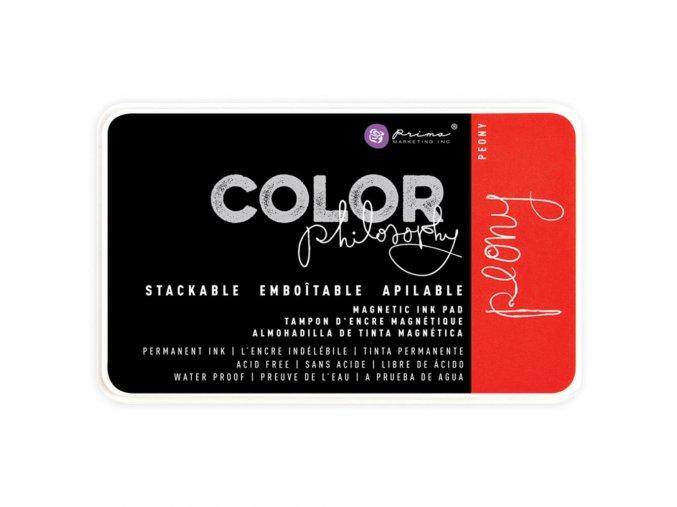 PRIMA MARKETING - Prima Color Philosophy Permanent Ink Pad - PEONY