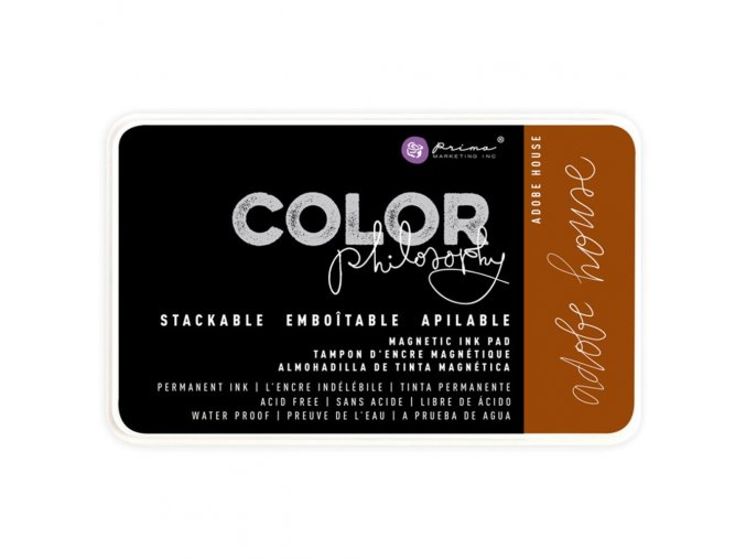 PRIMA MARKETING - Prima Color Philosophy Permanent Ink Pad - ADOBE HOUSE