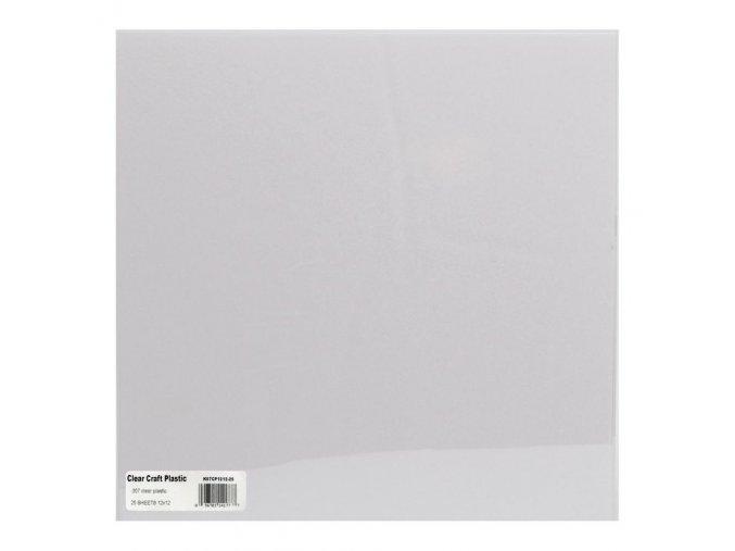 """GRAFIX - acetátová čtvrtka Craft Plastic Sheets 12""""X12"""""""