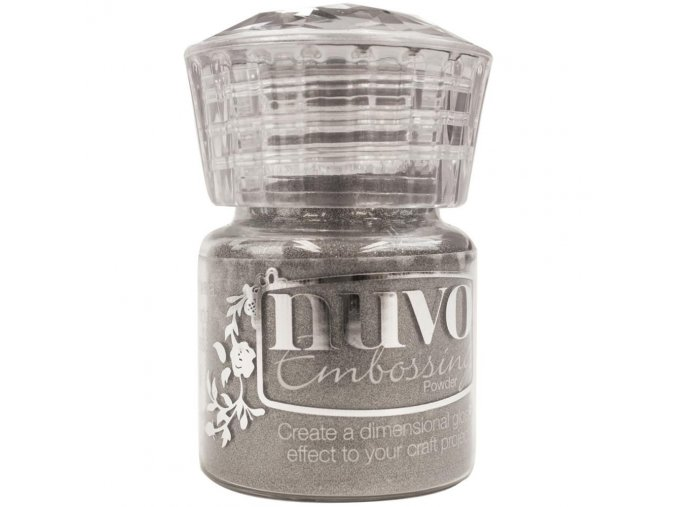 NUVO - Embossing Powder - CLASSIC SILVER