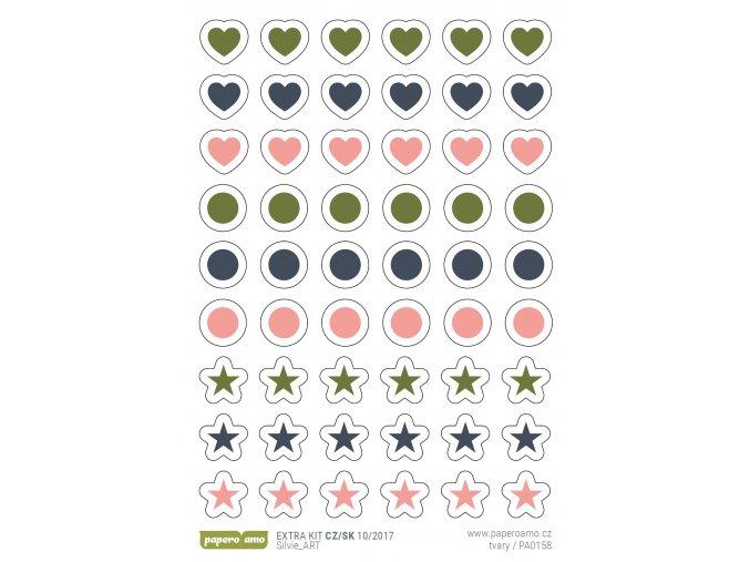 Samolepky - PODZIMNÍ ROMANTIKA / Symboly