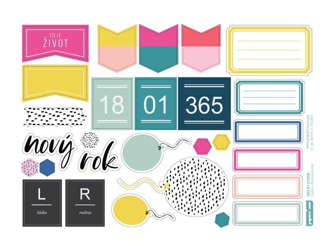 Papírové výseky - 365 DNÍ / To je život