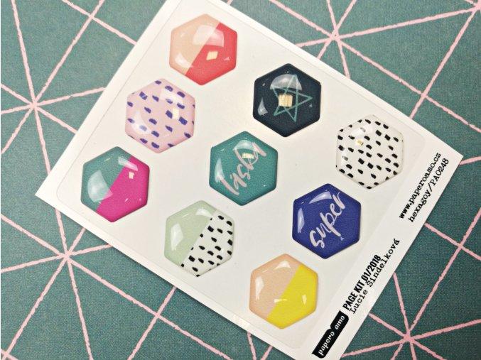 Epoxy ozdoby - 365 DNÍ / Hexagony