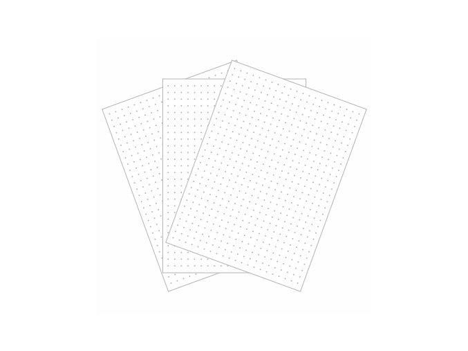 PAPERO AMO - kartičky malé - TEČKY #02