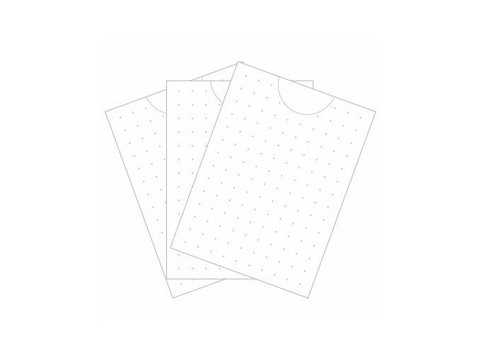 PAPERO AMO - kartičky malé - TEČKY / PŮLKOLO #03