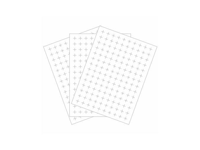PAPERO AMO - kartičky malé - KŘÍŽKY #07