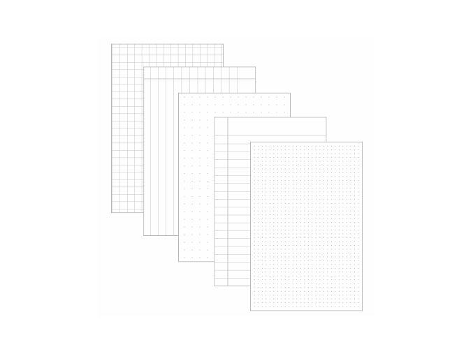 PAPERO AMO - kartičky velké - VZORY #12