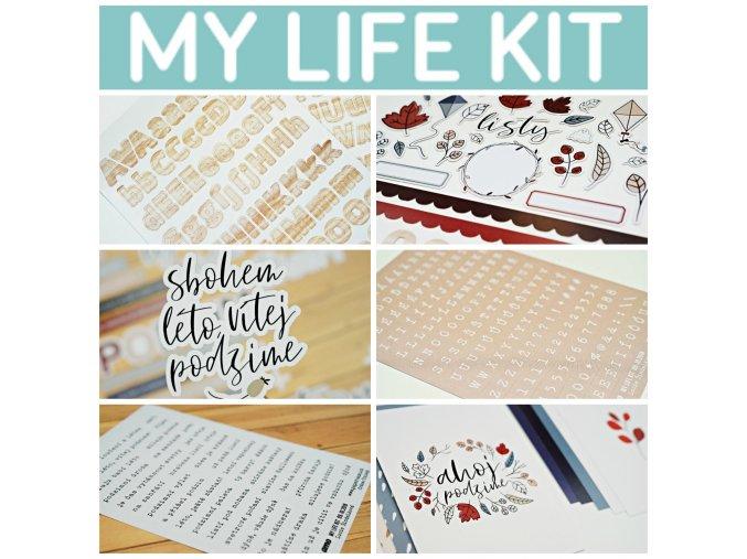 MY LIFE kit - AHOJ PODZIME