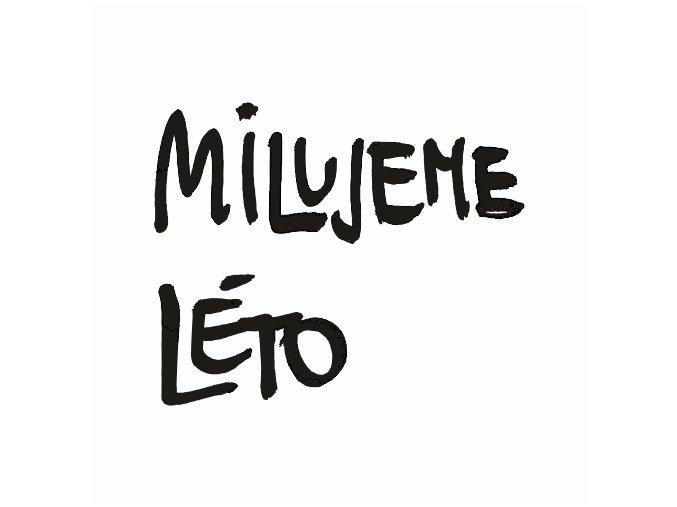 PAPERO AMO - silikonová razítka - MILUJEME LÉTO